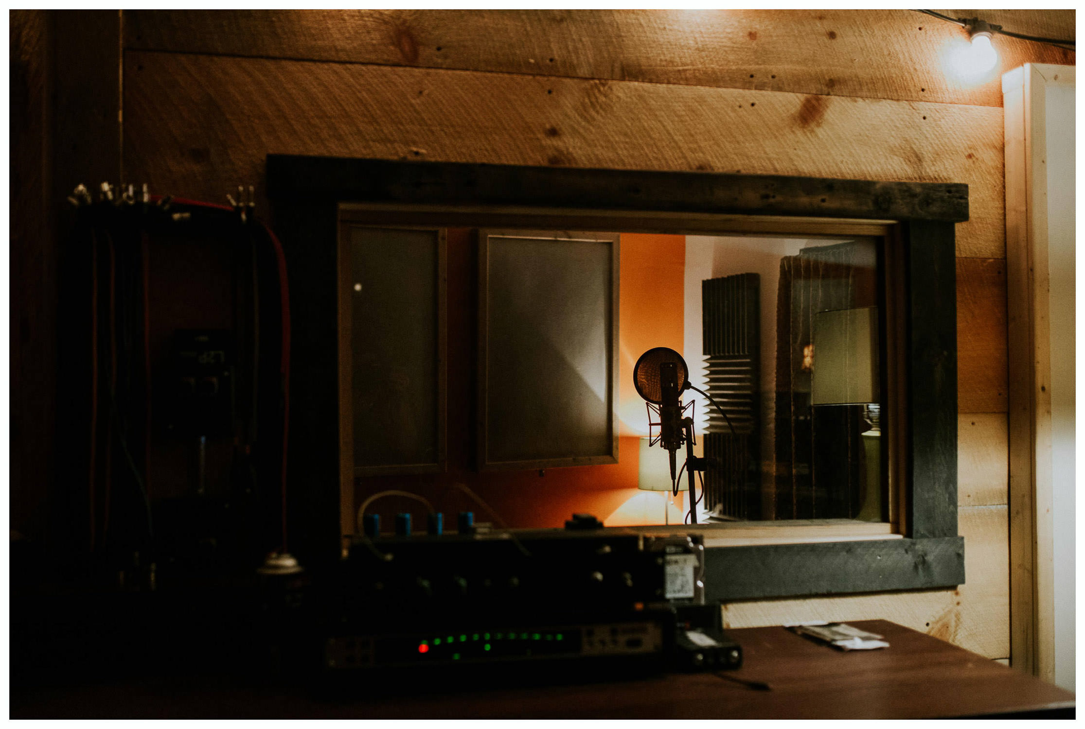 recording room in USA
